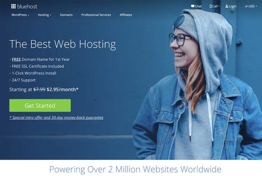 Bluehost WebhostinG Promo Codes and Review